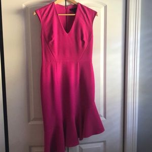 Maggie London pink dress is 4